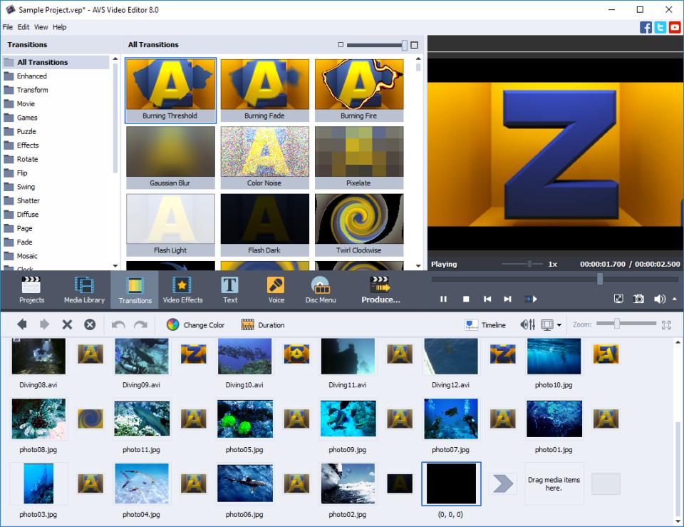 AVS Video Editor Software - 2