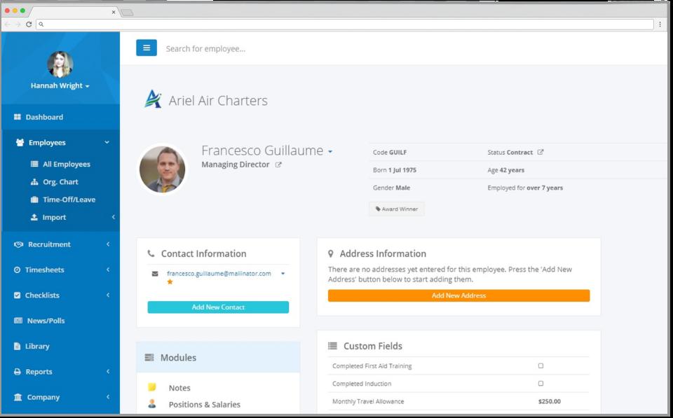 HR Partner Software - 2