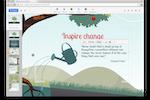 Capture d'écran pour Prezi : Access and use Prezi on Mac