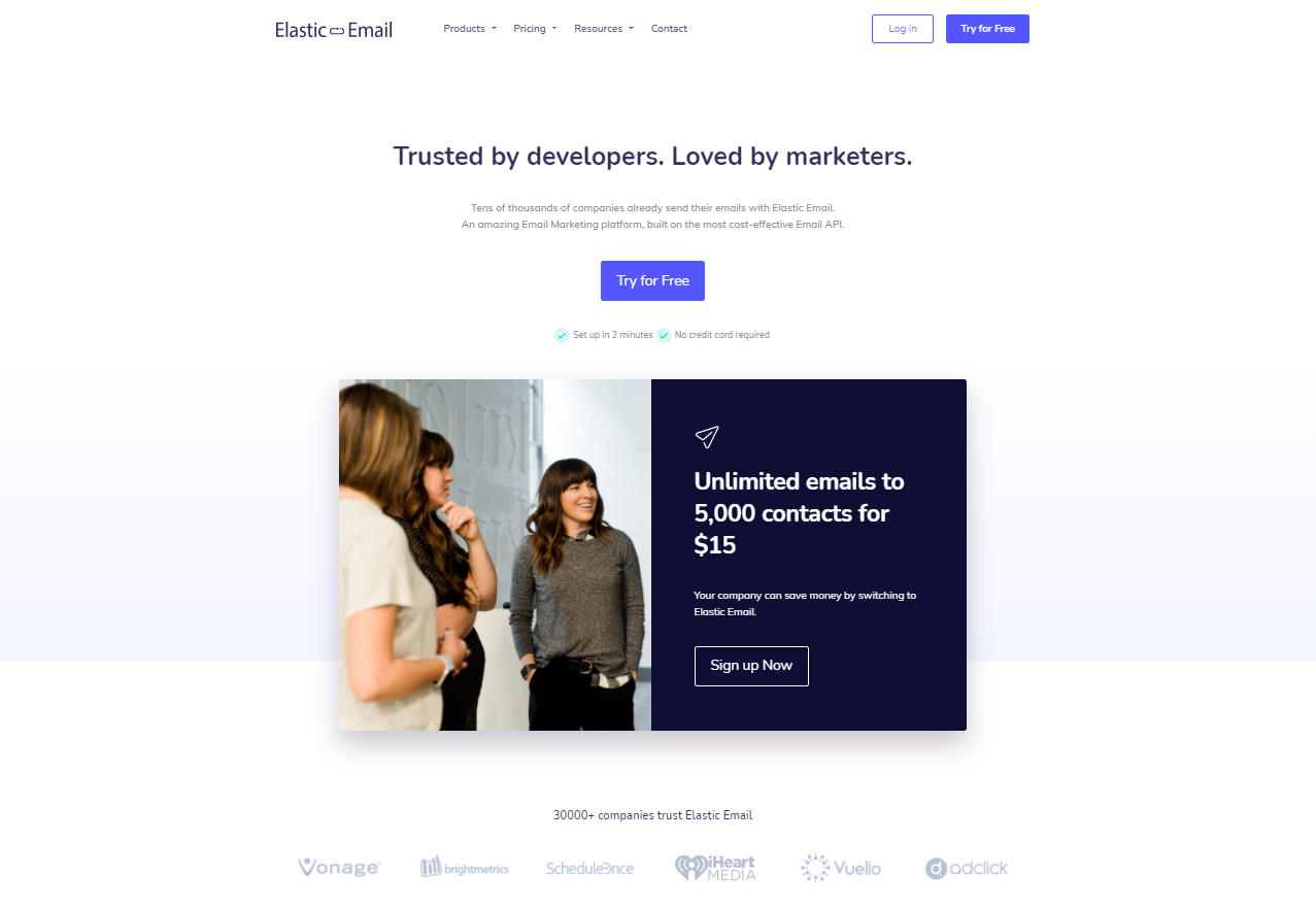 Elastic Email - Amazing email marketing platform, built on the most cost-effective Email API.