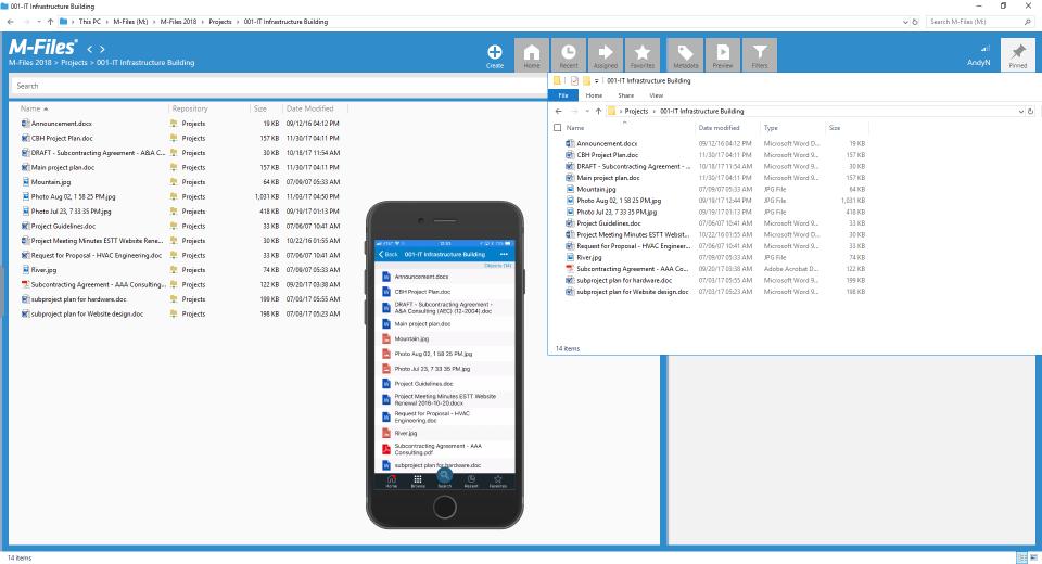 Network Folder View