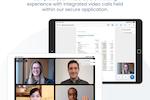 Azeus Convene screenshot: Integrated Video Conferencing