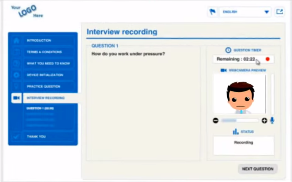 Video Recruit Software - Interview recording %>