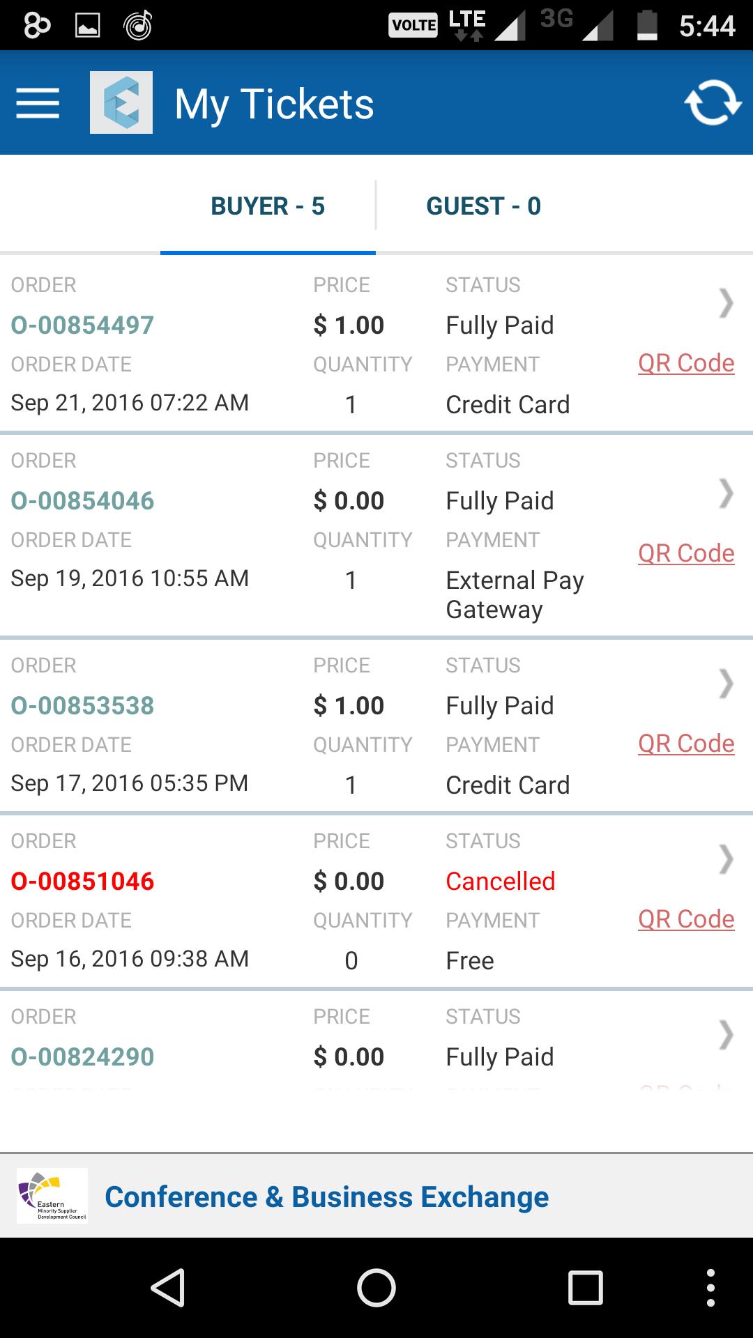 Eventdex Software - Tickets