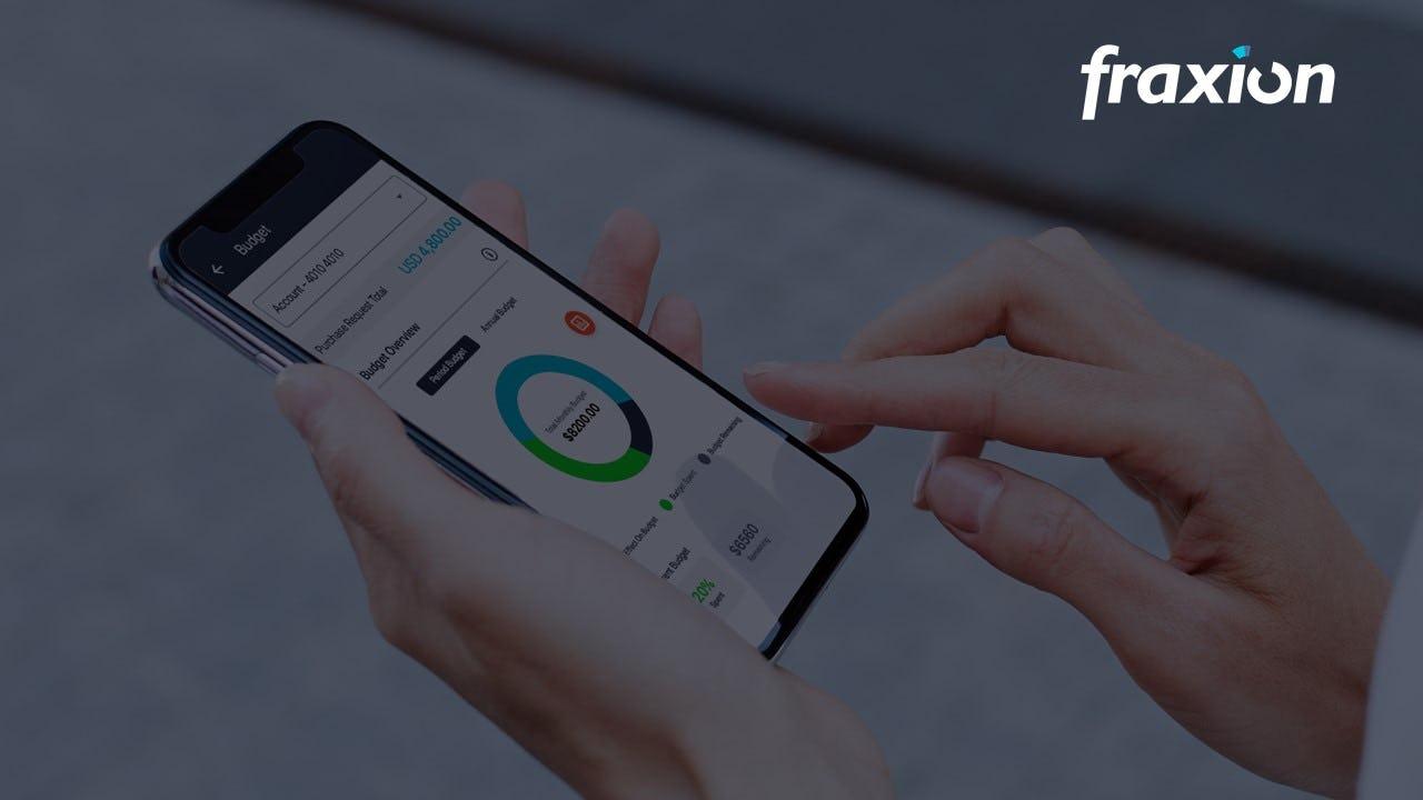 Fraxion Software - Proactive spend management