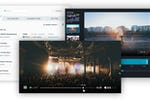 Flowplayer screenshot: Live streaming features