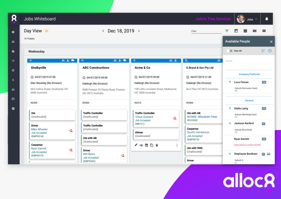 Alloc8 Software - 2