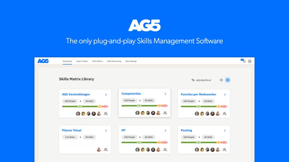 AG5 Skills Intelligence Software Logiciel - 1