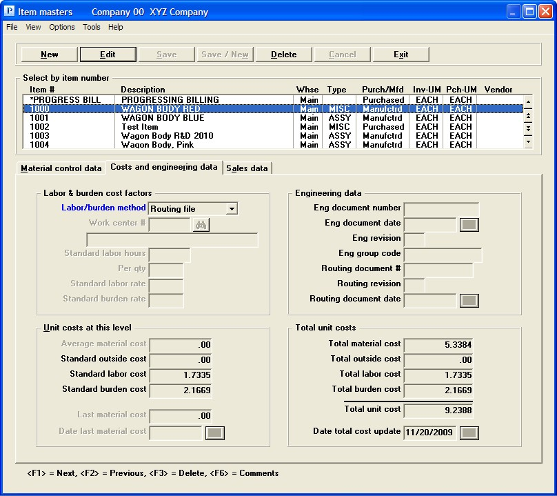 PBS Accounting Software - Cost breakdown