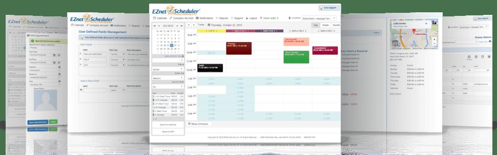 EZnet Scheduler Software - Appointment scheduler