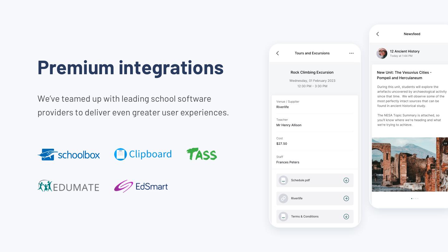 Digistorm Apps Software - Premium integrations