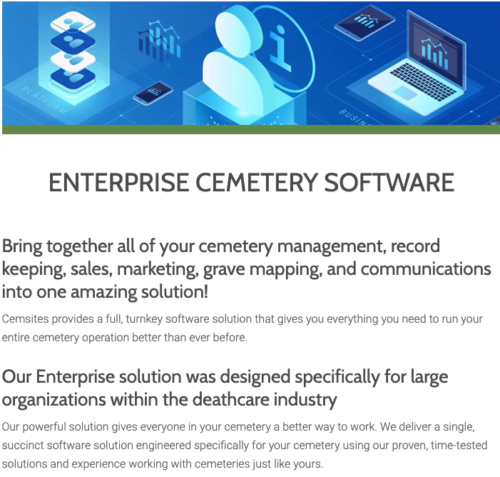 CemSites Software - 4
