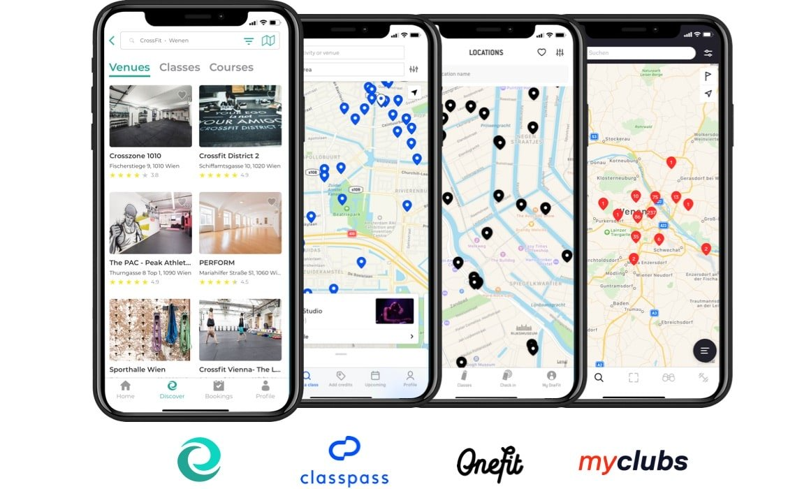 Connect easily to aggregators such as Classpass, Onefit, & Myclubs via API.