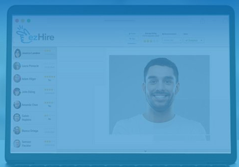 EZHire Digital Interview Platform video interview