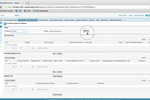 Kenandy Cloud ERP screenshot: Use Kenandy's search feature to find and create purchase orders