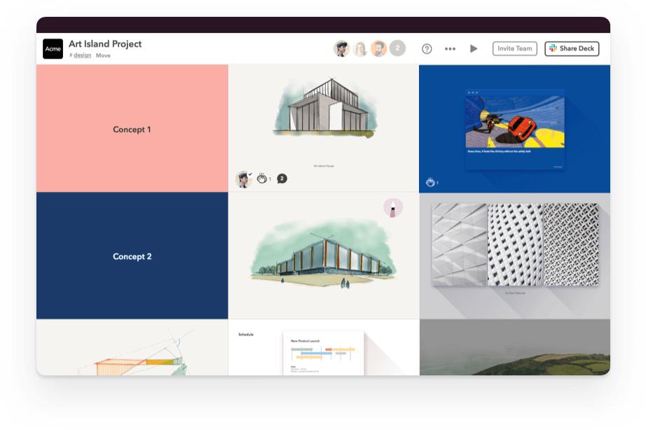 WeTransfer Software - Dashboard