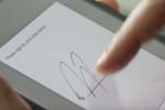 RepZio Screenshot: Capture signatures electronically