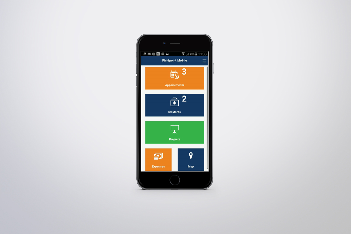 Native Fieldpoint Mobile apps for iOS and Android available, providing reliable mobile access from the field
