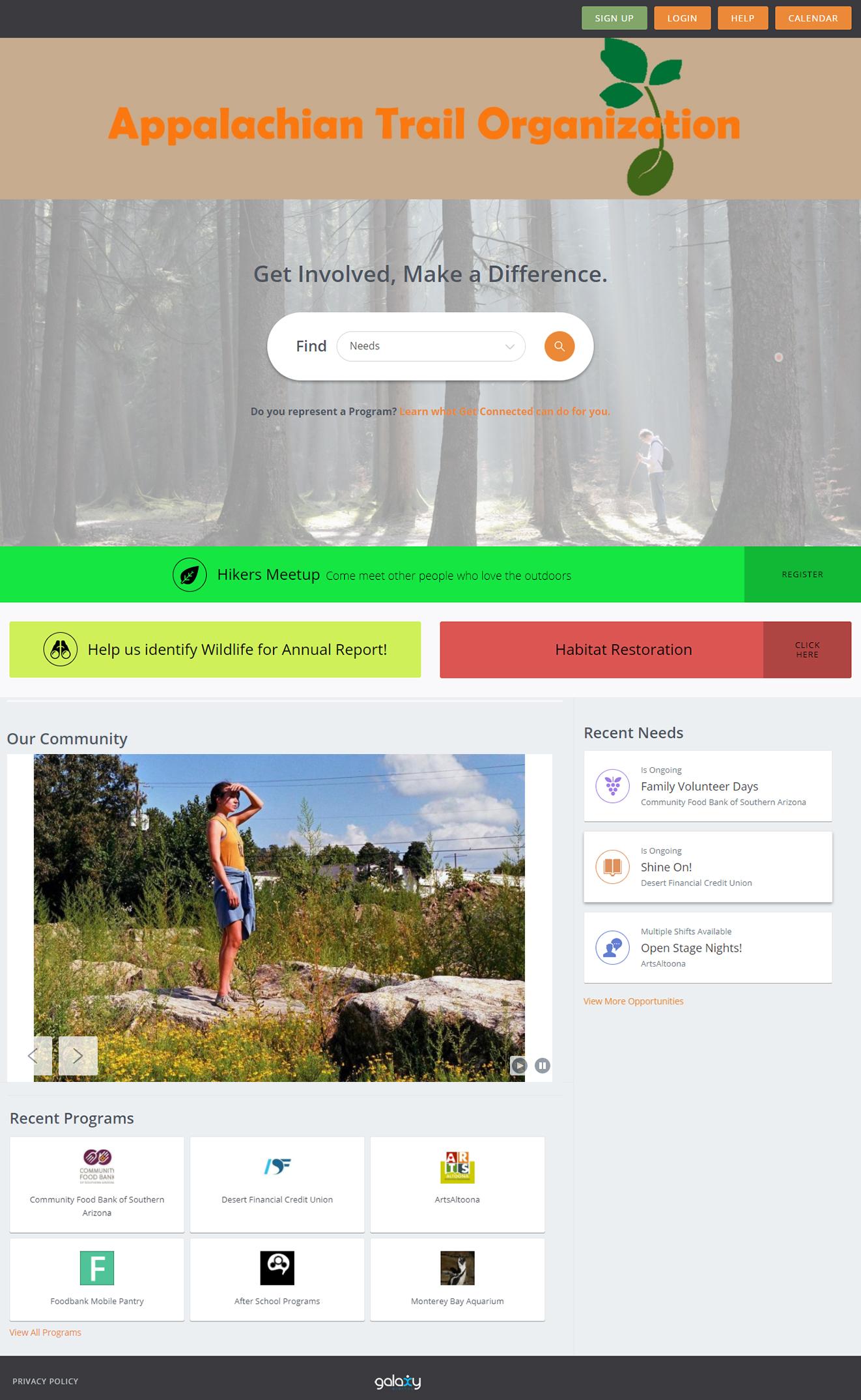 Get Connected Website