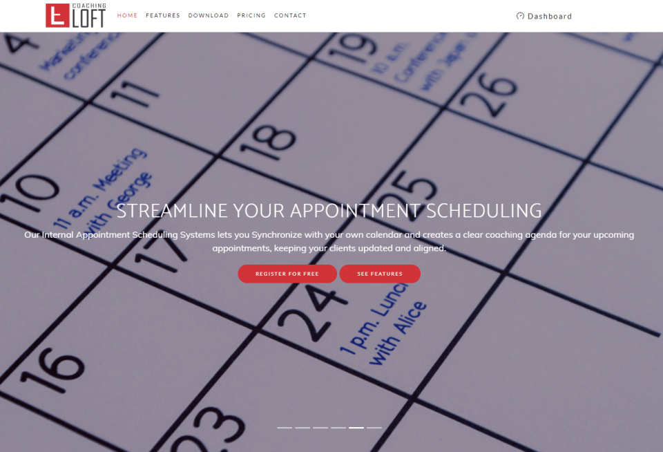 Coaching Loft Software - Appointment Scheduling