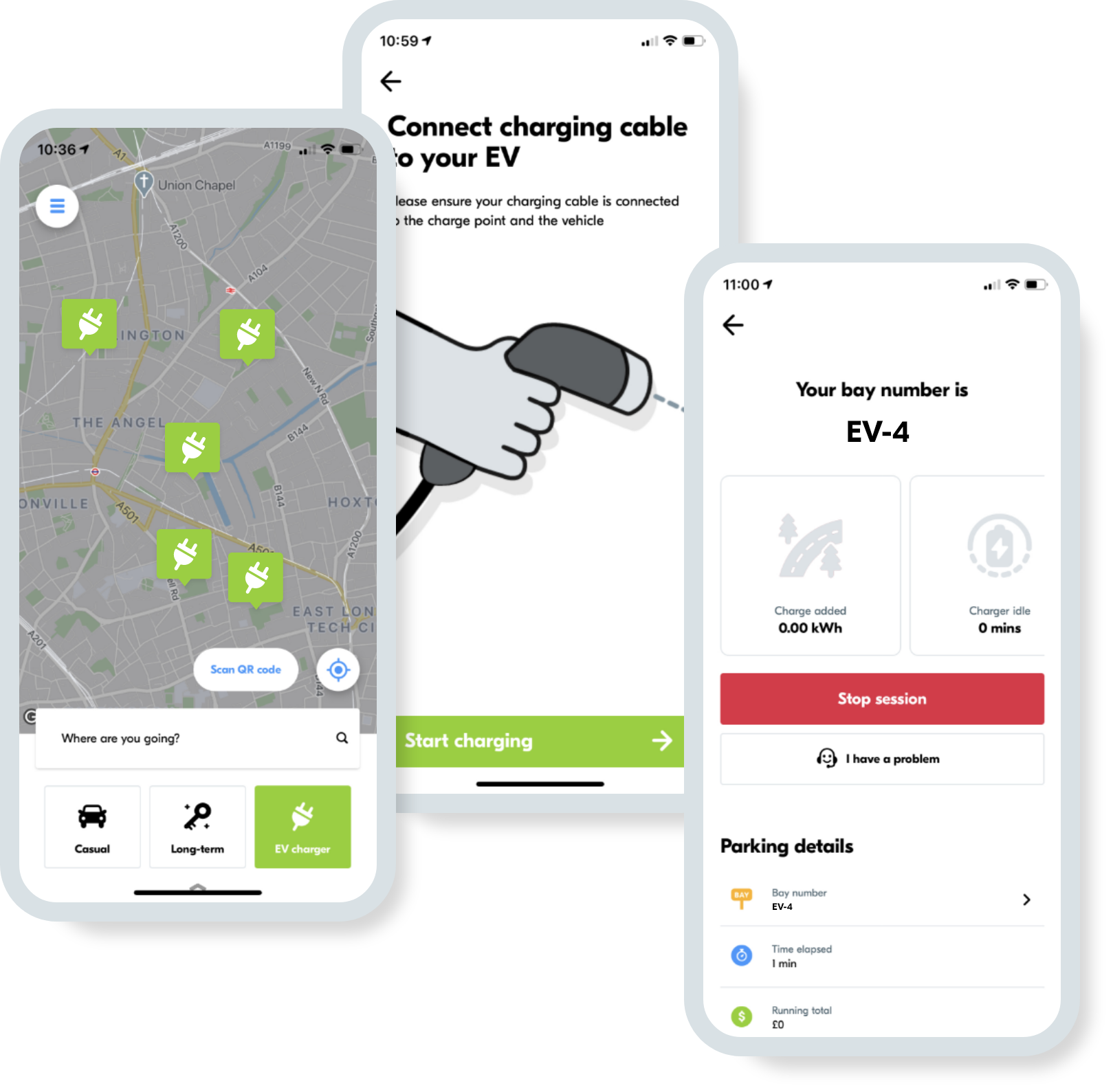 Easily manage your EV chargers with seamless payments, hardware integrations and real-time reporting.