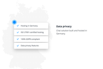 Schermopname van Userlike: Data privacy