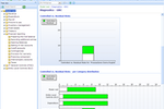 ProcessGene GRC Software Suite screenshot: Controlled vs. Residual Risks