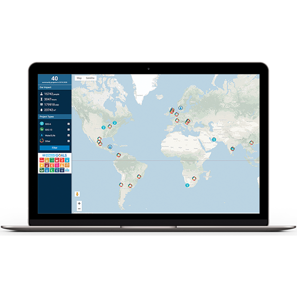 Map and visualize your grantmaking outcomes with interactive features that you can share with as many or few stakeholders as you require.