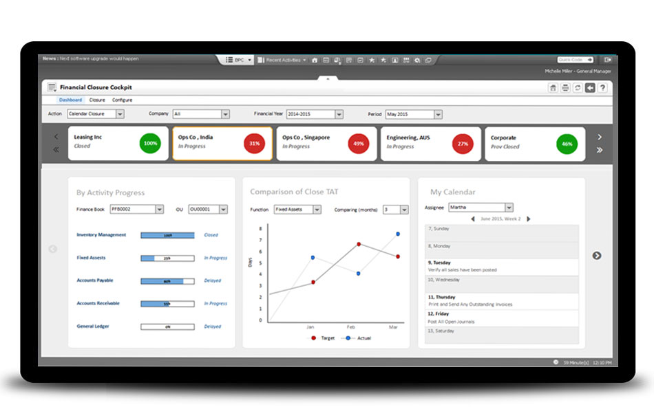 Ramco Logistics Software enterprise resource planning screenshot