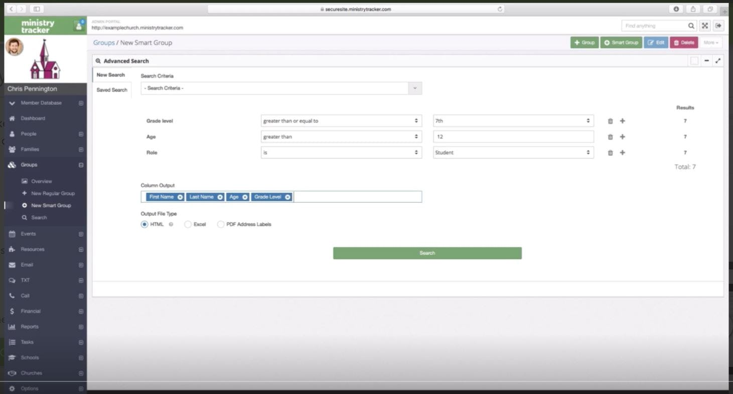 Faithlife Equip Software - Search groups