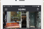 Squire Barber Appointment App screenshot: Squire will automatically show customers qualified shops based on their location and prerequisite filtering options