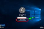 PortalGuard screenshot: PortalGuard Desktop Links on Windows 10