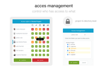 Wimi screenshot: Access Rights Management