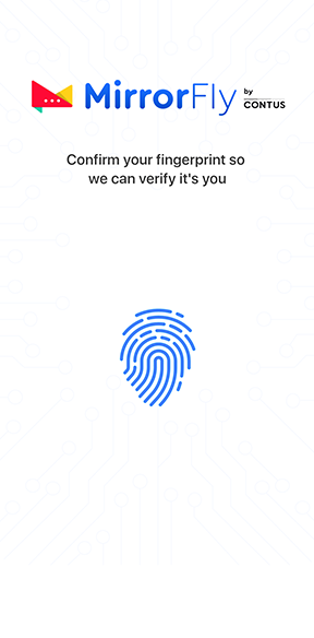 MirrorFly secure login