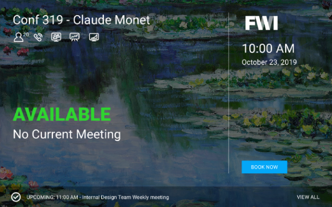 FWI customizable digital signage