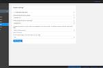 SMTP2GO Screenshot: SMTP2GO: Display Settings