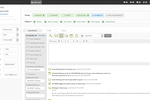 Influx MD screenshot: The lead dashboard helps users to prioritize daily lead-related tasks according to the workflow