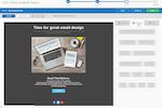 Capture d'écran pour iPost : iPost drag & drop email design