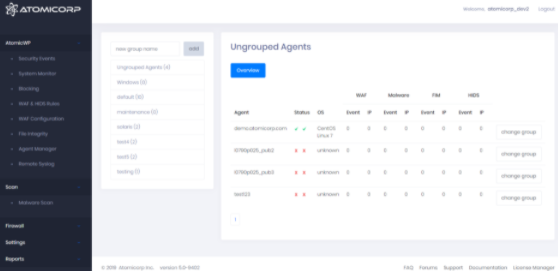 Atomicorp OSSEC Software - Agent Monitoring Platform