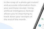 Itemize screenshot:
