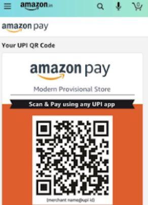Amazon Pay accept payments via UPI