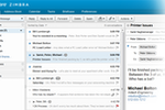 Zimbra Collaboration Suite Screenshot:
