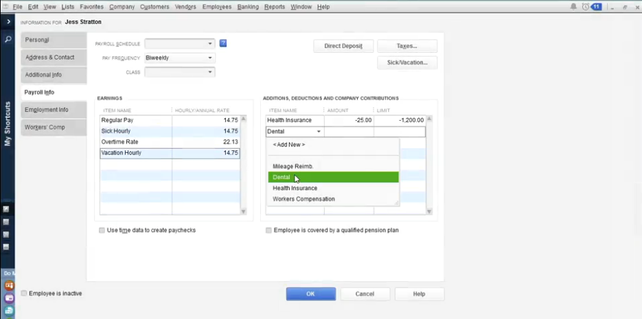 QuickBooks Desktop Pro Software - Profile