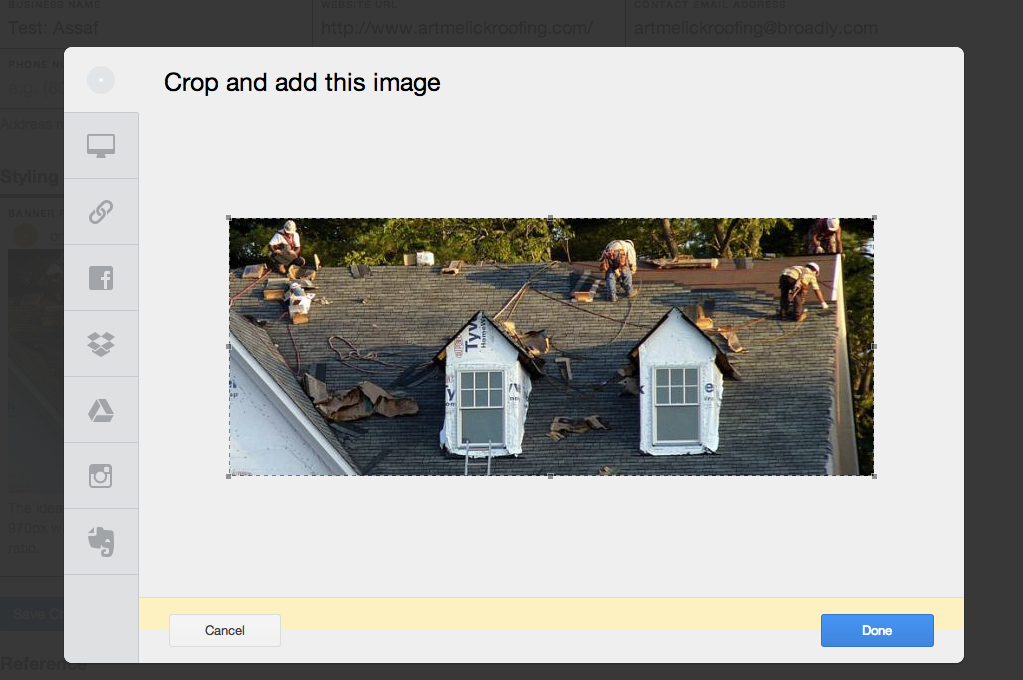 Edit images in Uploadcare