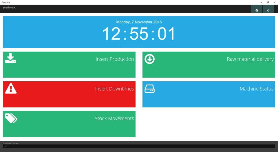 Employees can use the self service tool to enter data in real time