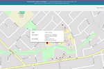 Fieldmagic screenshot: Built-in GPS tracking provides display real-time locations of all technicians