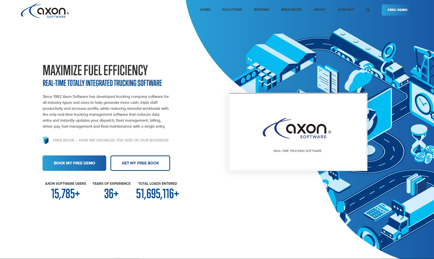 Axon Software: Real-Time Trucking Software
