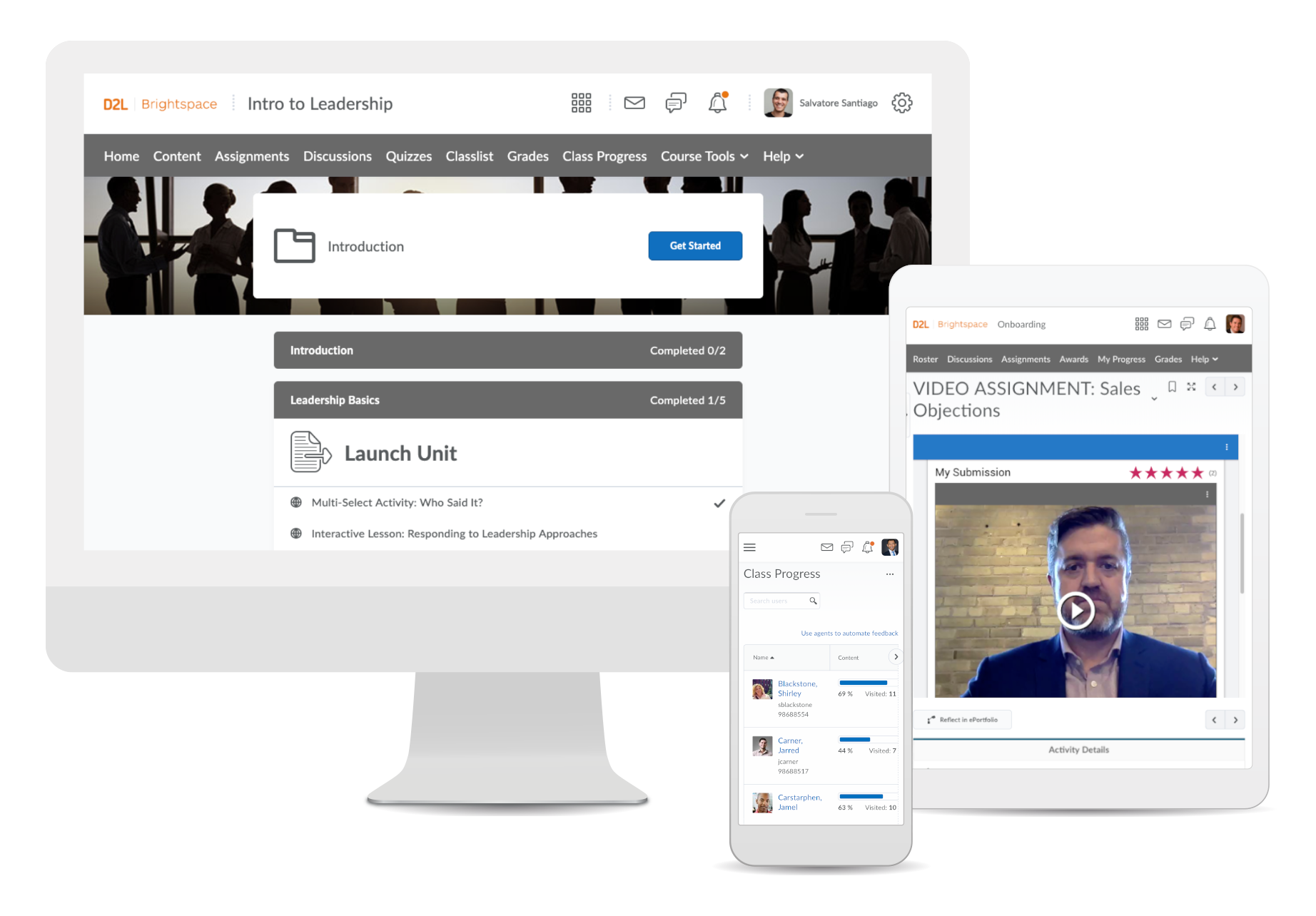 Brightspace learning platform for corporate