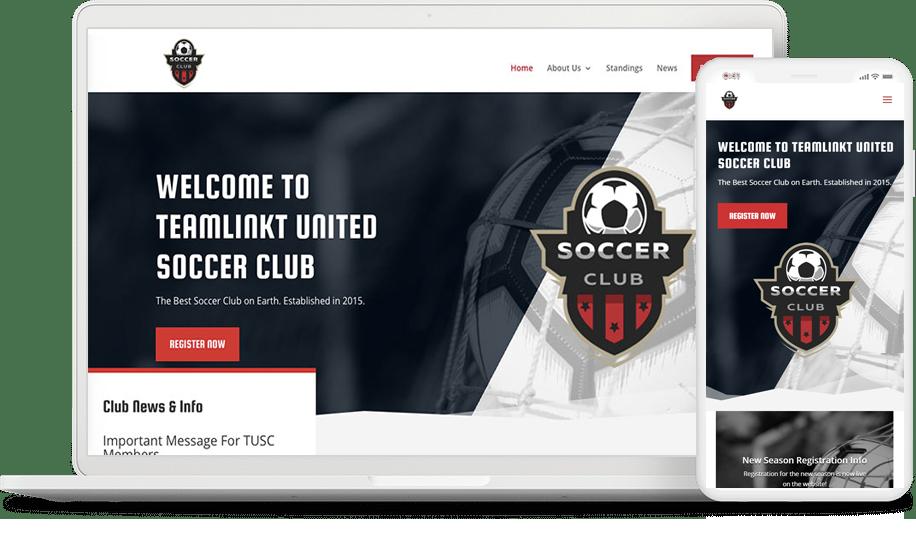 TeamLinkt League Website
