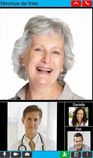 Mobiléa screenshot: Mobilea video calling